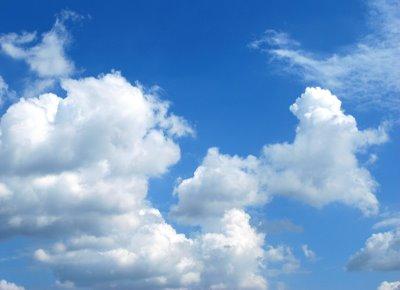 langit biru